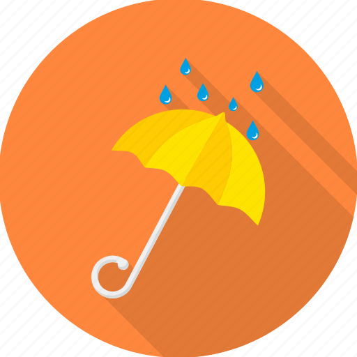 protect, protection, rain, rainy, safety, umbrella, weather icon