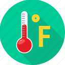 degree, fever, celsius icon