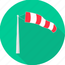 parachute, wind, windy icon