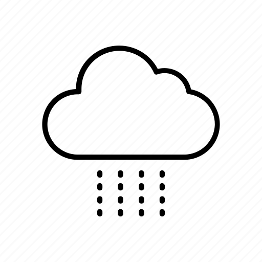 cloud, drizzle, forecast, rainy, weather icon