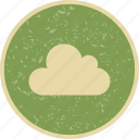 cloud, cloudy, overcast, weather icon