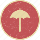 beach, cocktail, drink, rain, umbrella, vacation icon