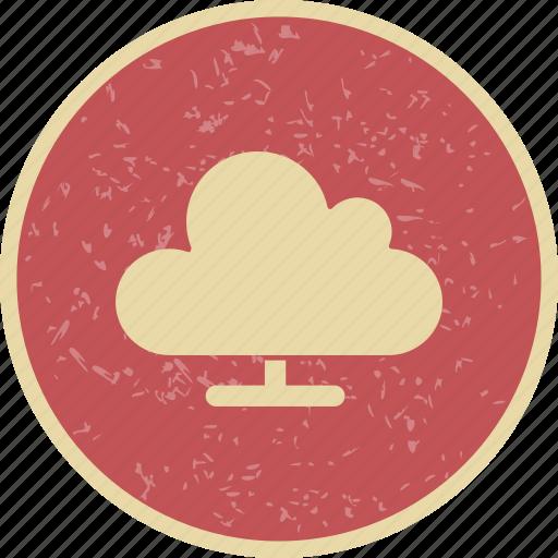 cloud computing, network, storage icon