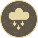 cloudy, flake, presipitation, rain, snow, snowflake icon