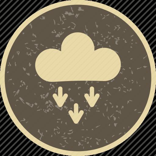 cloud, cloudy, presipitation icon