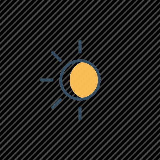 cloud, interface, moon, ui, user, weather icon