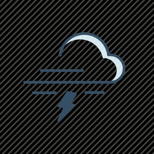 cloud, interface, moon, rain, ui, weather icon