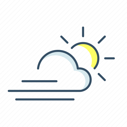cloud, computing, forecast, storage, sun, ui, weather icon