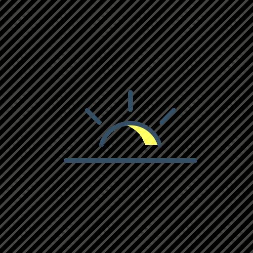 cloud, forecast, rain, storage, sun, ui, weather icon