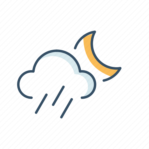 cloud, forecast, rain, sun, ui, weather icon