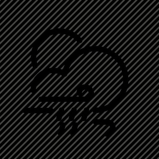 cloud, moon, rain, snow, ui, weather icon