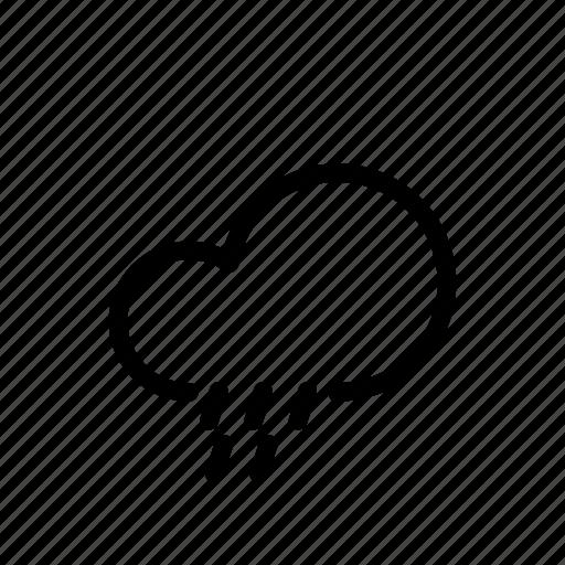 cloud, moon, rain, sun, ui, weather icon