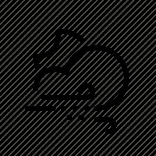 cloud, moon, rain, storage, sun, ui, weather icon