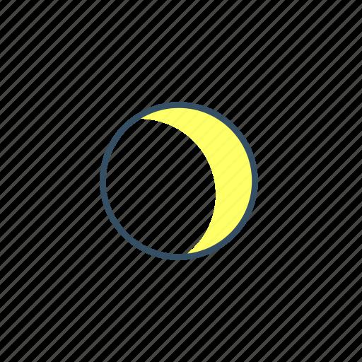 moon, ui, weather icon