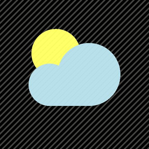 moon, rain, ui, weather icon