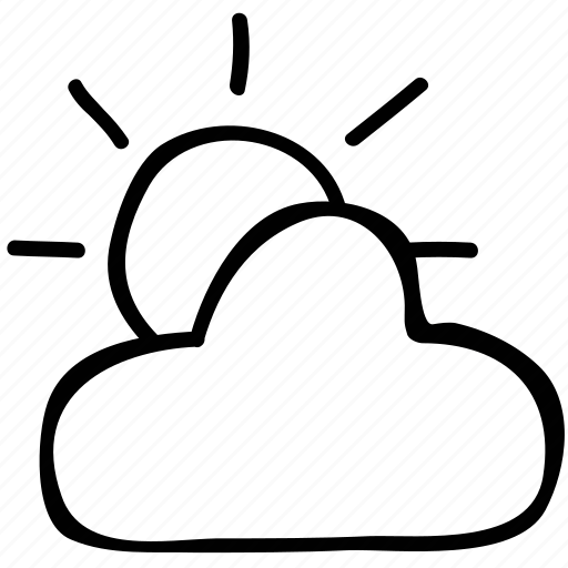 cloudy, day, forecast, weather icon
