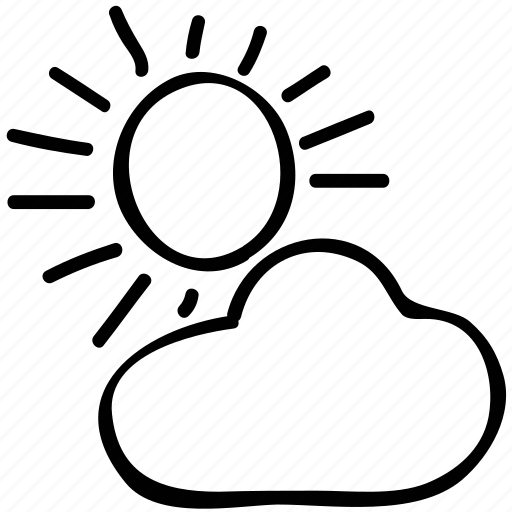 cloudy day, day, forecast, weather icon