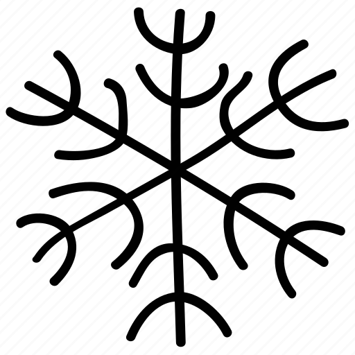 christmas, forecast, snowflake, weather icon