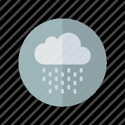 grey, light, rain, weather icon