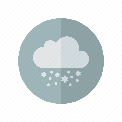 grey, snow, weather icon