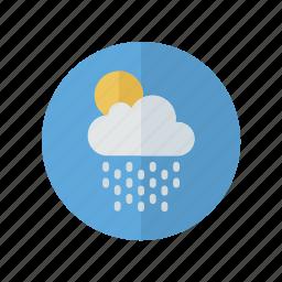 light, rain, sun, weather, wi icon
