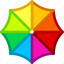 protection, rain, safety, security, umbrella, weather icon