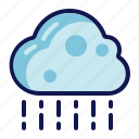 rain, rainy, weather icon