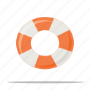 life buoy, rescue, support icon