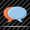 customer service, customer support, chat, speech bubbles