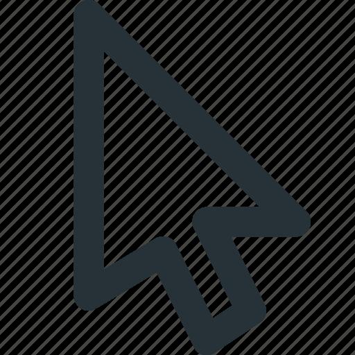 arrow, cursor, mouse, select, ui, web icon