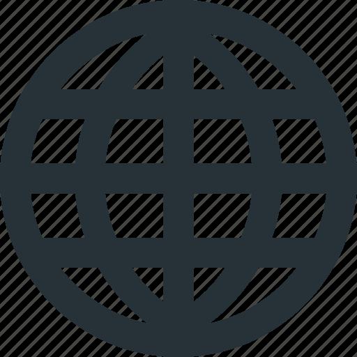 earth, global, internet, navigation, network, web, worldwide icon