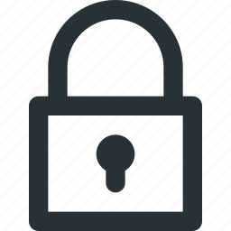 blocked, closed, lock, locked, safety, security icon