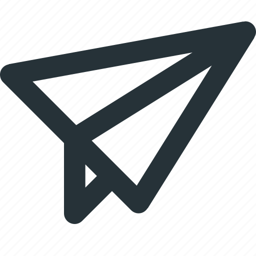 chat, mail, paper, plane, send icon