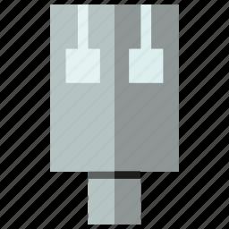 electronics, plug, usb icon