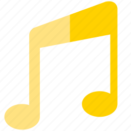 music, note, sound icon