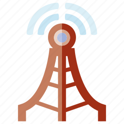 antenna, communication, communication tower, signal, transmission, wifi, wireless icon