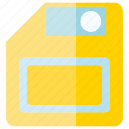 data, disc, floppy disk, guardar, save, storage icon