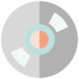disk, electronics icon