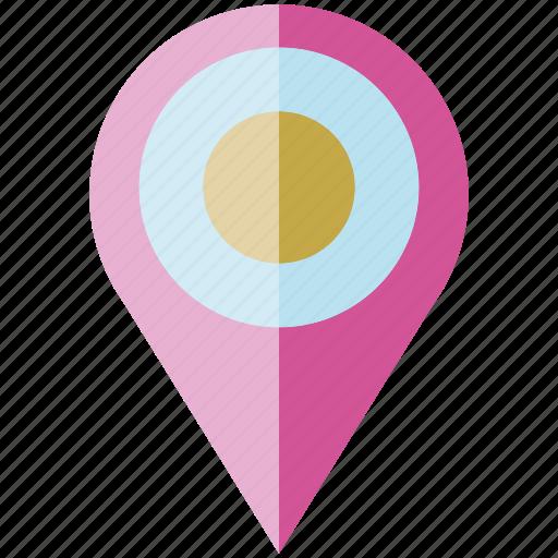 location pin, map pin, pin icon