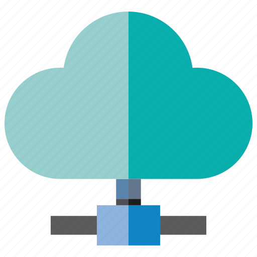 cloud, cloud computing, network icon