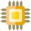 chip, electronic, microchip icon