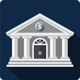 bank, budget, building, business, cash, dolar icon