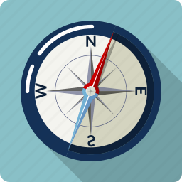 compass, direction, guidance, map, navigate, navigation, pointer icon