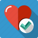accept, favorite, health, healthy, heart, ok, page icon
