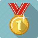 award, medal, prize, reward, ribbon, trophy, winner icon