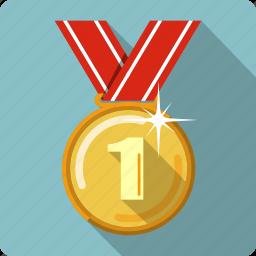 award, medal, prize, reward, ribbon, trophy, winner icon