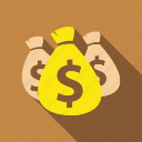 cash, earning, income, money, pay, salary, wages icon