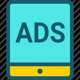 ads, advertising, marketing, seo, web icon