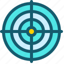 aim, dartboard, goal, marketing, target icon