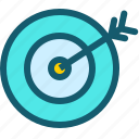 aim, dart, focus, shoot, shooting, target, targeting icon